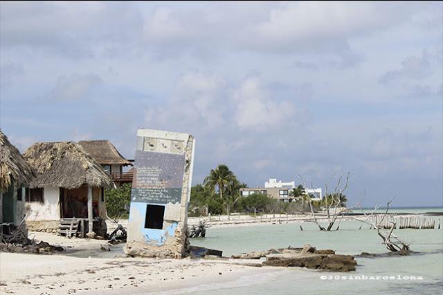 Holbox island in México