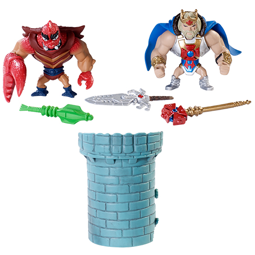 Masters of the Universe Minis 2 Pack #6 by Mattel - King He-Man & Clawful