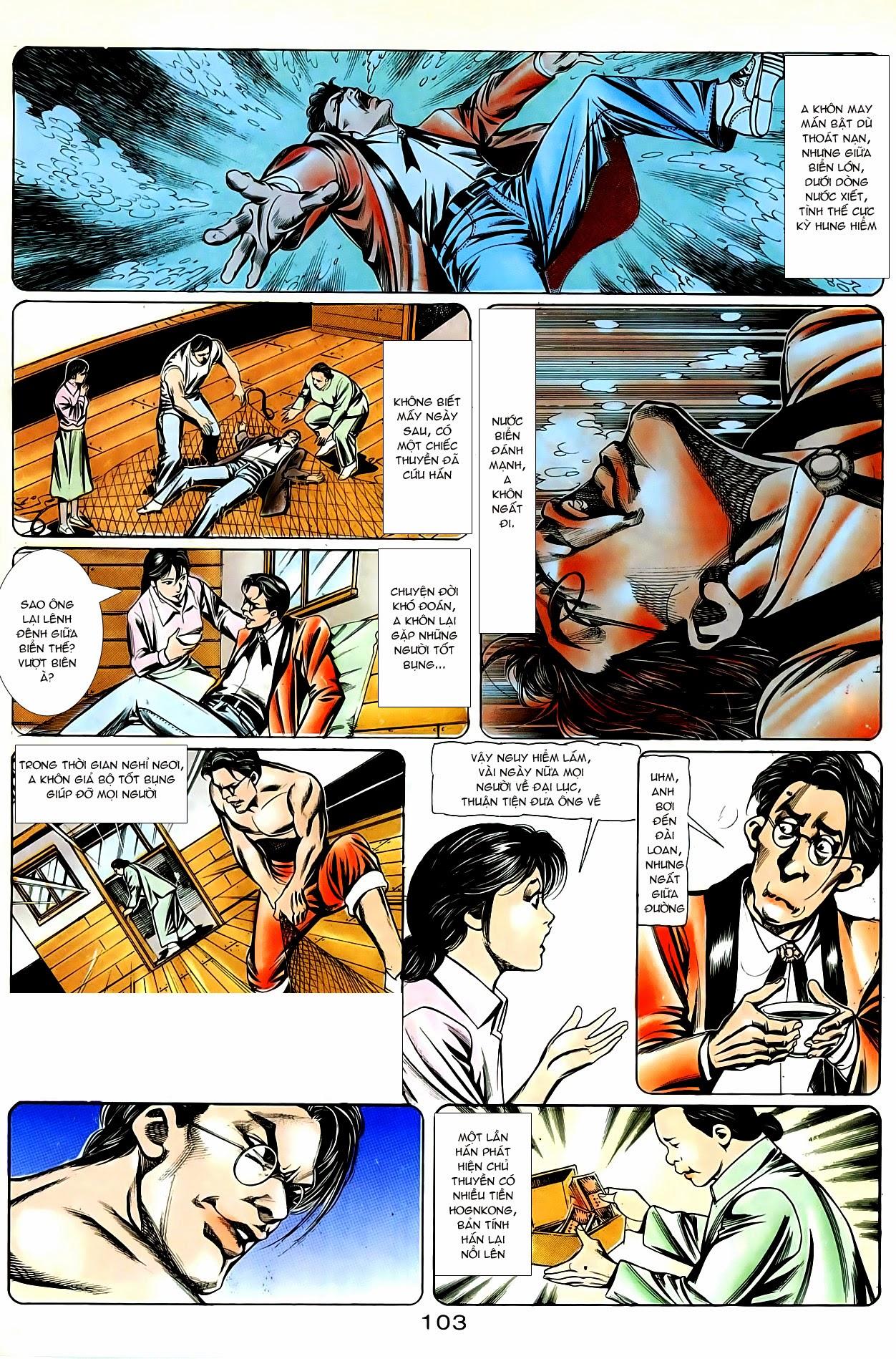 Người Trong Giang Hồ chapter 87: chống lưng của a khôn trang 17