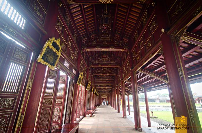 Imperial Citadel Hue Collonade