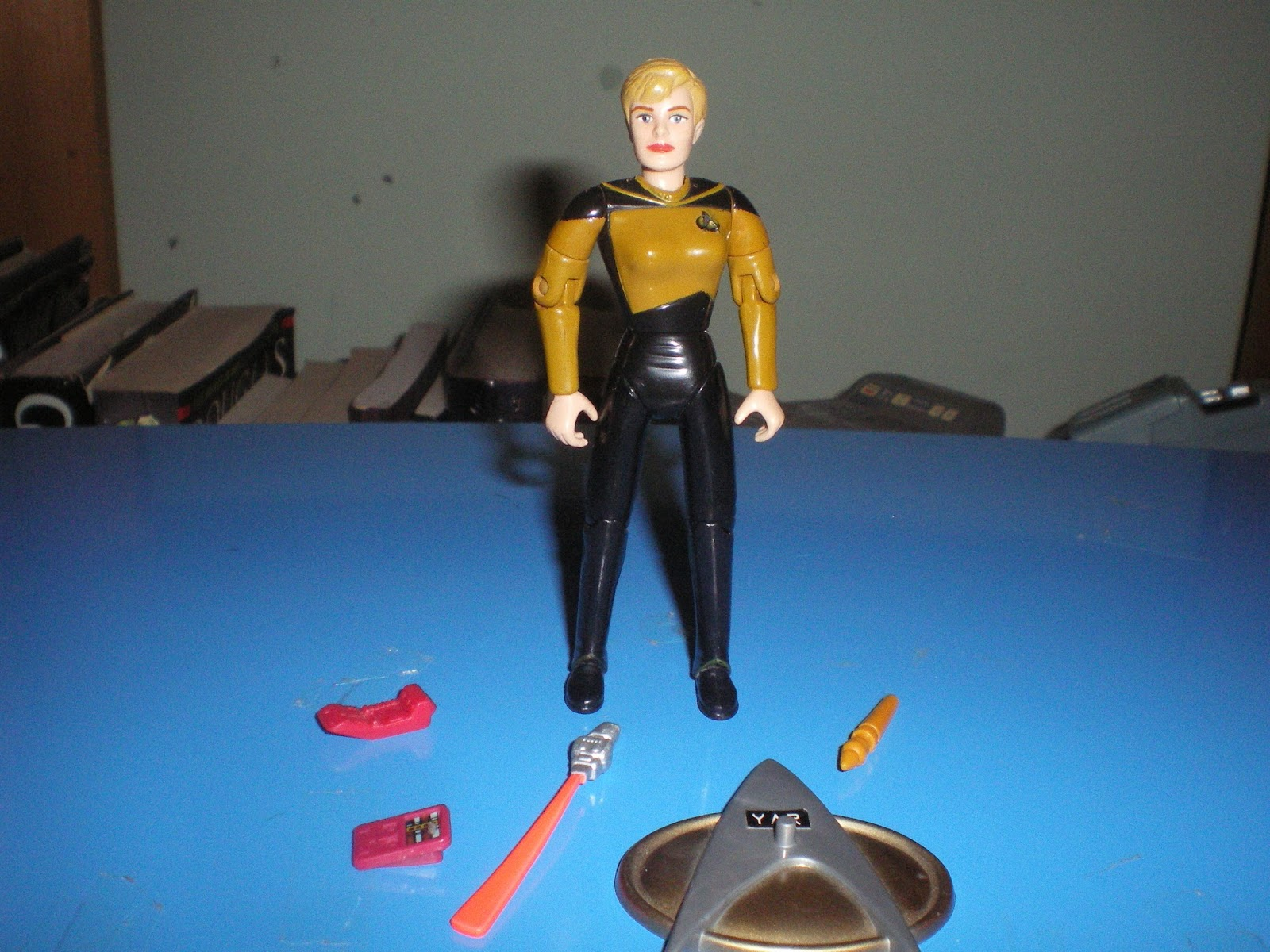 Totemic Artefacts: Playmates Star Trek: The Next Generation