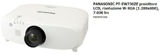 Noleggio videoproiettore PANASONIC PT EW730ZE