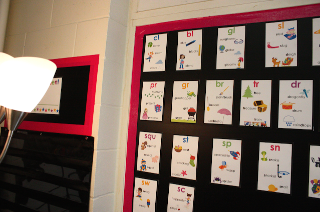use contact paper to refresh classroom