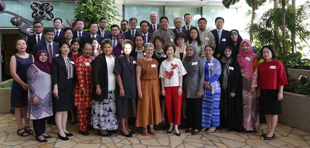 Foto 1. Delagasi Peserta CDNL-AO ke 40 di Singapura 20-21 Februari 2019