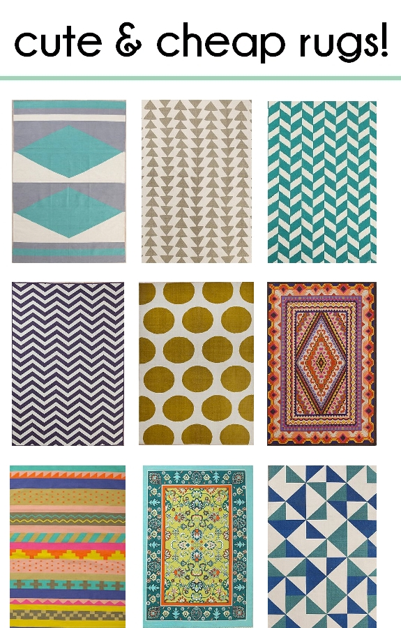 Cute Cheap Rugs