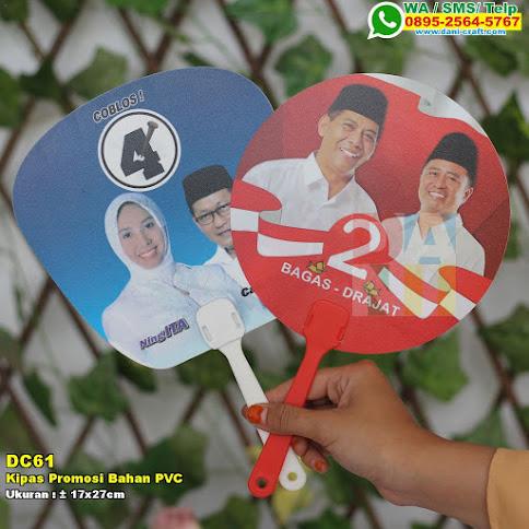 Kipas Promosi Bahan PVC