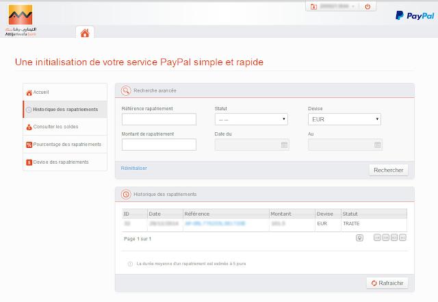 خدمة Attijari-Paypal للتعامل المالي على الإنترنت , تعرف على كيفية تشغيلها