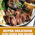 Super Delicious Slow Cooker Beer Braised Beef Short Ribs