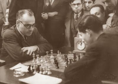 Partida de ajedrez Vilardebó-Beltrán, Torneo de Barcelona 1943