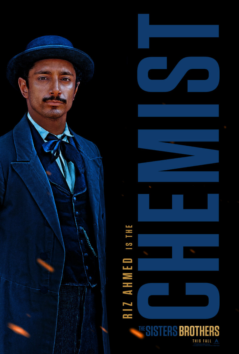 riz ahmed the sisters brothers poster