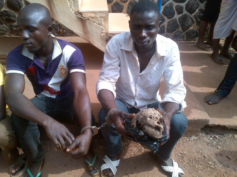 ritual killer enugu human head