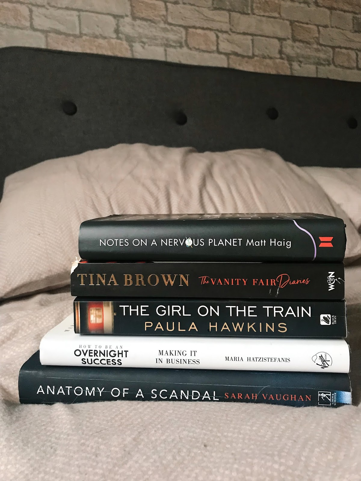 My Top Five Books of 2018