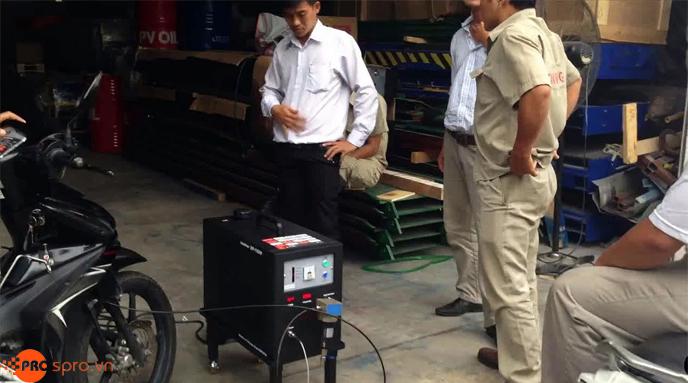 Máy tẩy rửa buồng đốt động cơ xe máy Đài Loan Epoch EP-168