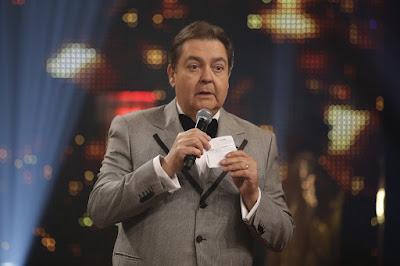 Fausto Silva durante a apresentação do 'Troféu Domingão