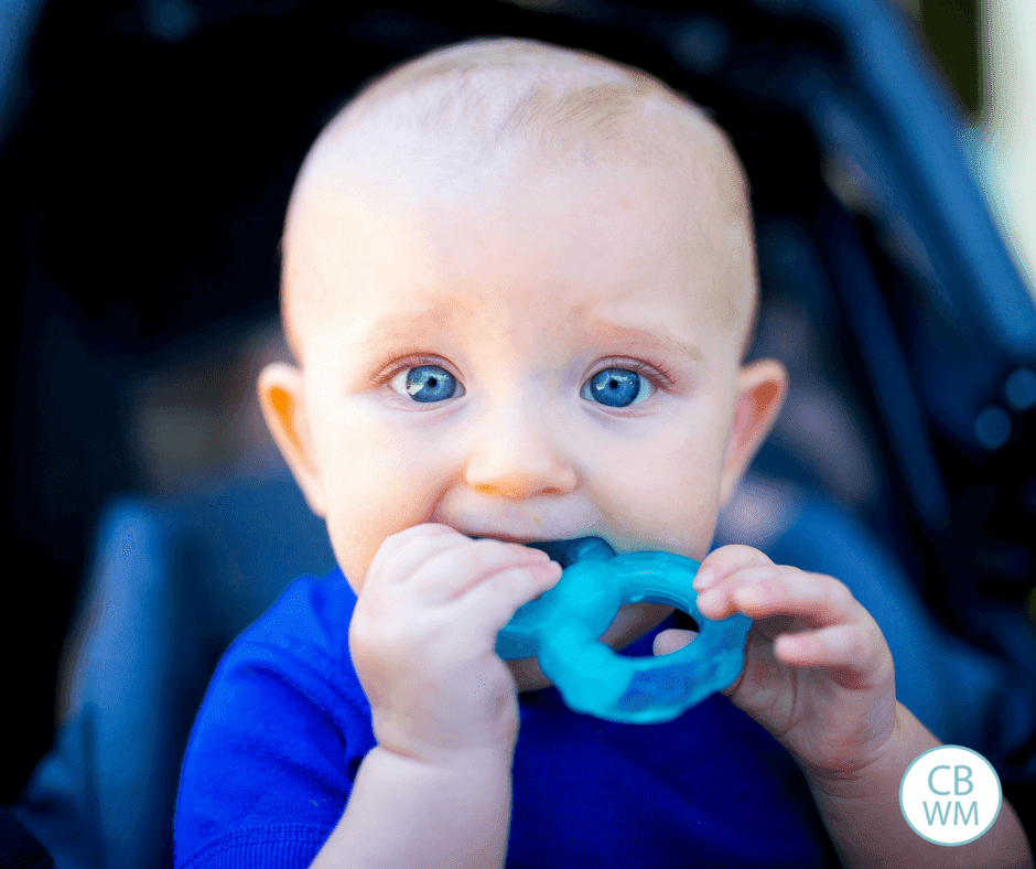 Teething Tips and Tricks. How to help baby with teething pain without using medication or with using medication. How to keep baby on schedule and sleeping well while teething.