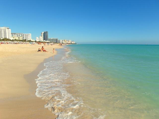 stranden i Miami South Beach