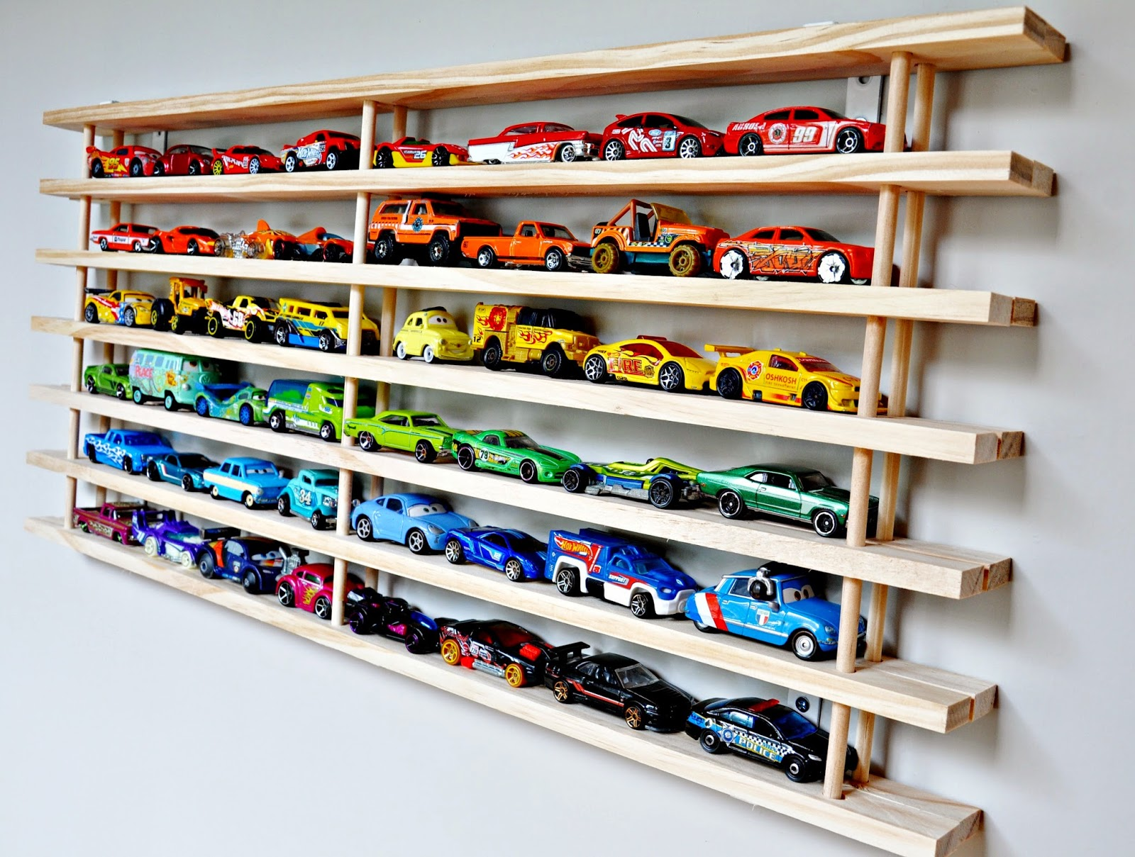 Hot Wheels Collection Organization The Words