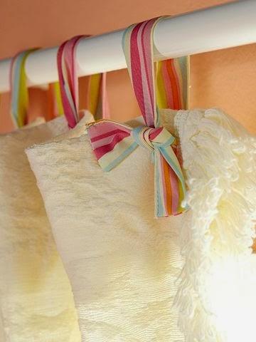 Θηλιές κουρτίνας χωρίς ράψιμο step by step