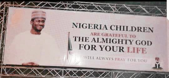 'Welcome' signs for president's son anger Nigerians