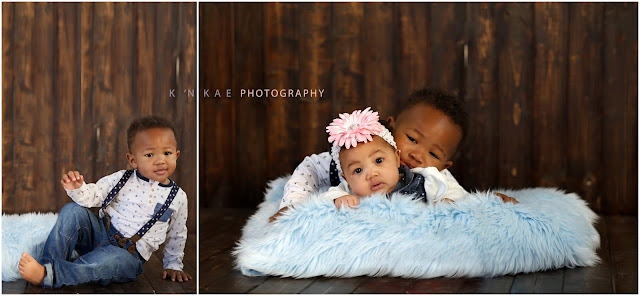 siblings, milestones, 18 months, 3 months, family portraits, k 'N kae Photography, Colorado Springs, Colorado, Denver, Child Photographer, 80925, Studio Portraits, Baby boy, baby girl,