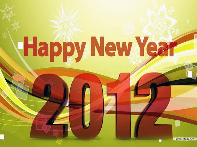 Cute 2012 New Year Wallpapers