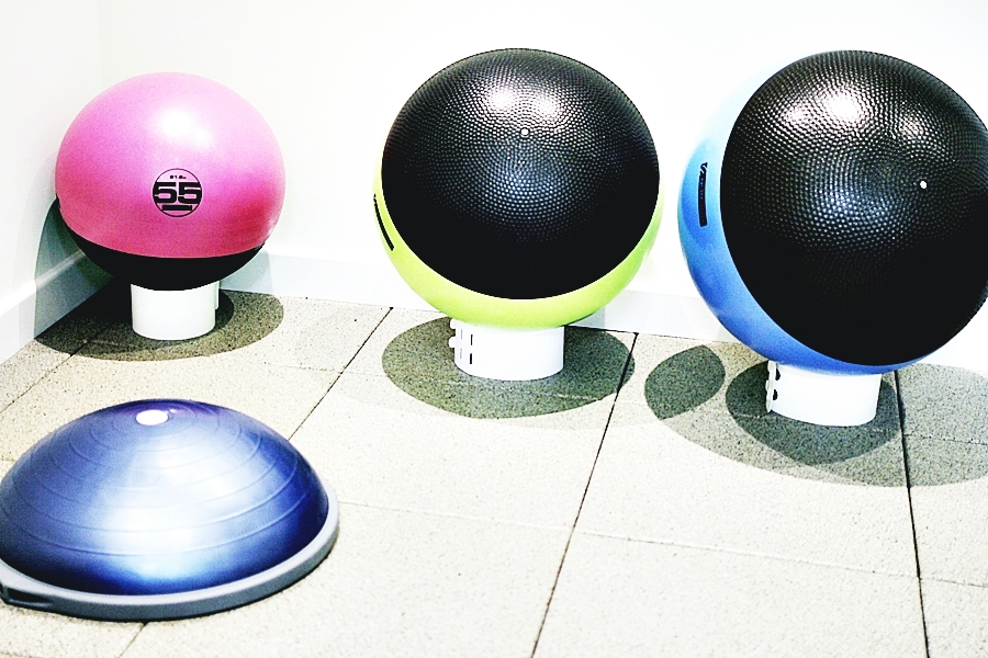 balls yoga training