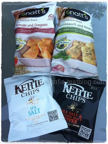 Snatt's Snacks und Kettle Chips