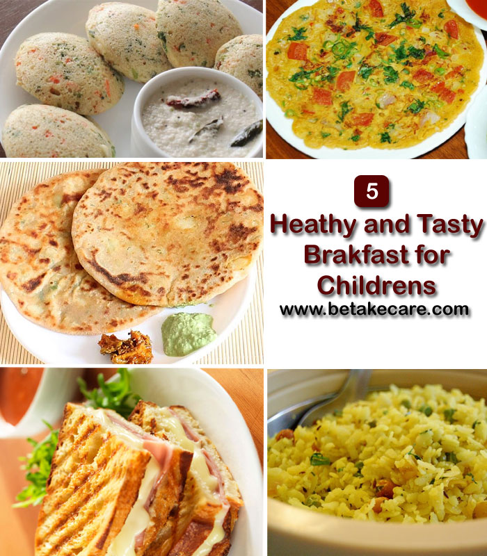 Healthy and Tasty Breakfast for Children's