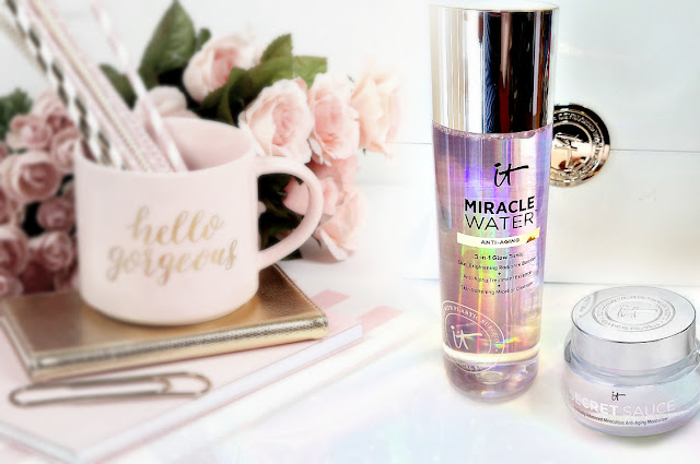 Itcosmetics Miracle Water 3-in-1 Glow Tonic and Secret Sauce review by barbies beauty bits
