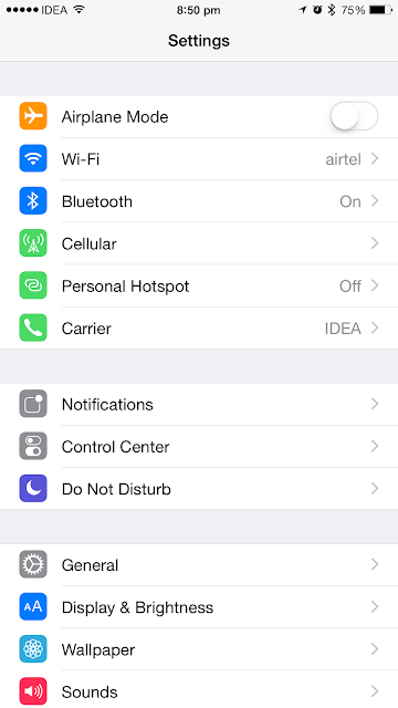 How to enable 4G on an iPhone running iOS 8