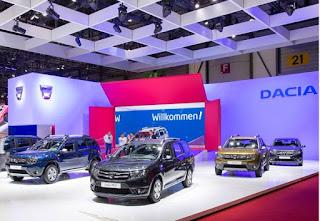 Noutatile Dacia la Salonul Auto de la Geneva 2016