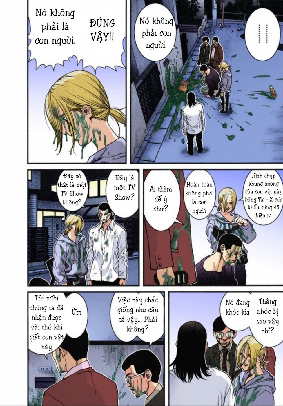 Gantz Chap 08: Tàn sát trang 14