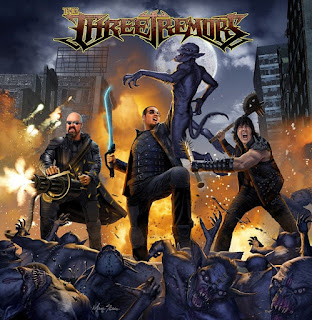 "Το video των The Three Tremors για το ""Invaders From The Sky"" από το album ""The Three Tremors"""