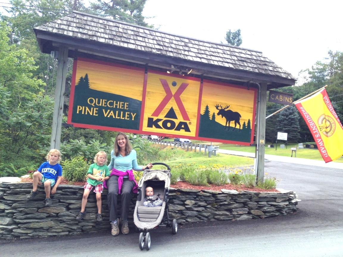 Those Magical Places (Quechee / Pine Valley KOA)