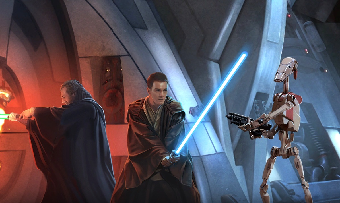 Star Wars Wallpaper Best Classic Art Unstoppable Jedi By Blog Lover