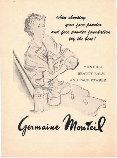 Germaine Monteil Beauty Balm and Face Powder Ad