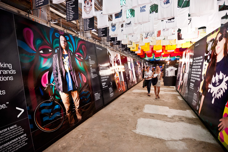 *來去Cockatoo Island看T-world的NEXT展:The future of T-shirt graphics 3