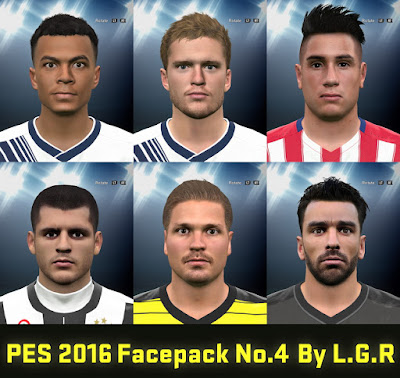 PES 2016 Facepack No.4 By L.G.R