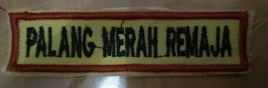 Jual Bordir Atribut Badge PMR SMA SMP