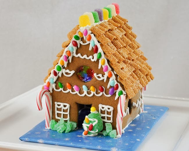Beki Cook's Cake Blog Homemade Gingerbread House Recipe