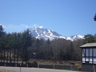 浅間山 by北軽井沢