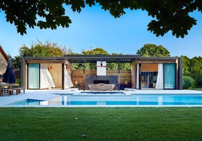 แบบบ้านหลังเล็ก + สระว่ายน้ำ