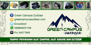 sewa alat outdoor / camping / gunung / hiking jakarta bogor dengan harga terjangkau barang berkualitas syarat mudah dengan jangkauan COD yang luas