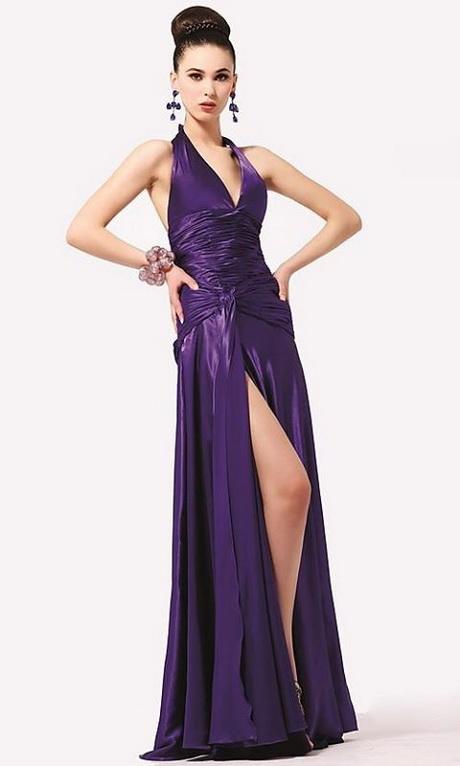 vestido elegante largo a la moda