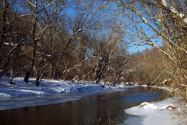 Image - winter_whispers.jpg - The Gunpowder River along the NCRT ©2013 K. R. Smith