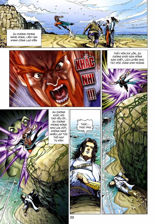 Anh Hùng Xạ Điêu anh hùng xạ đêu chap 54: kiếp hậu dư sinh thiến nữ kỳ mưu trang 23