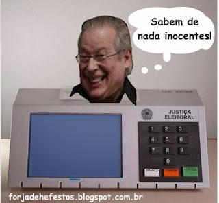 Urna eletrônica José Dirceu