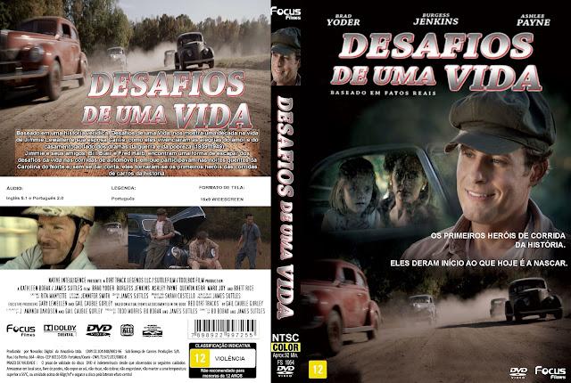 Capa DVD Desafios De Uma Vida