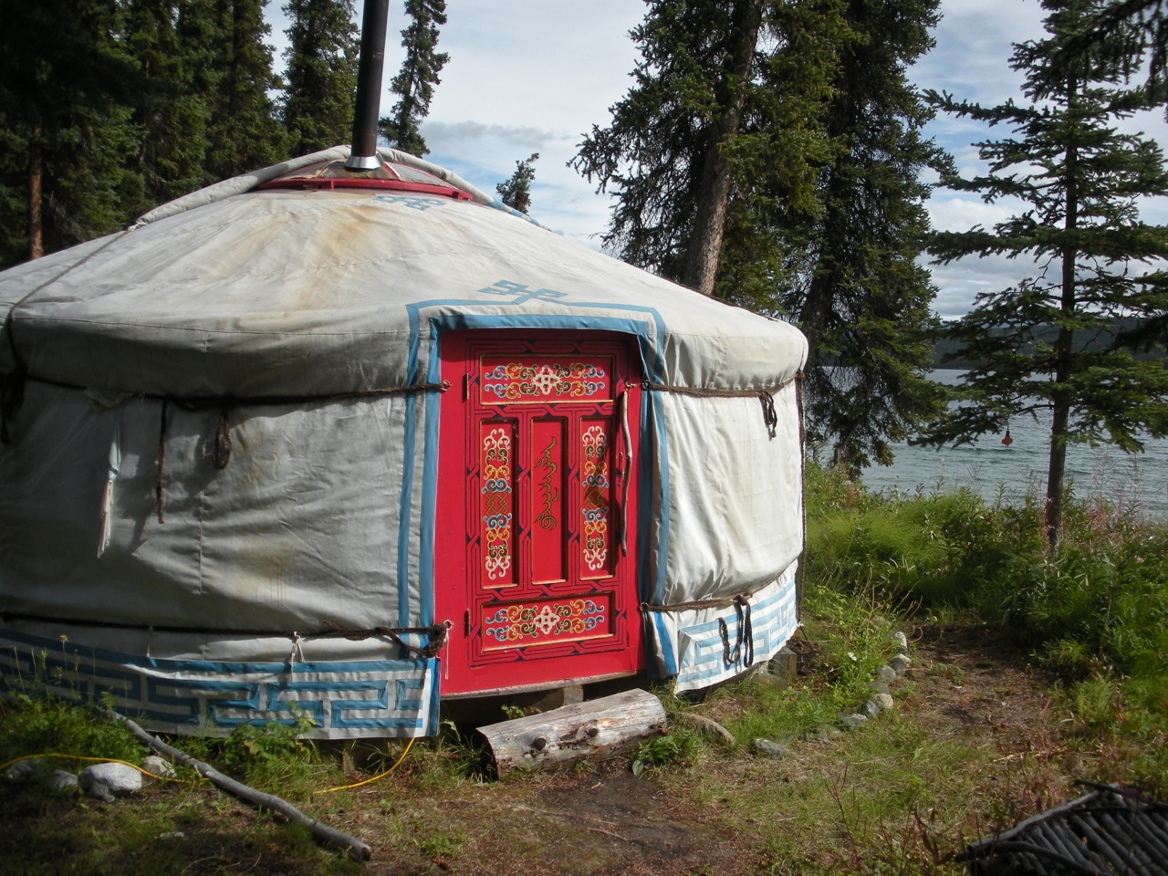 Winding Spiral Case: Yukon Trip - Day 3 - Carcross, YT