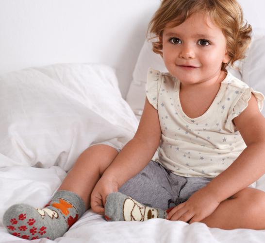 calcetines antideslizantes bebé